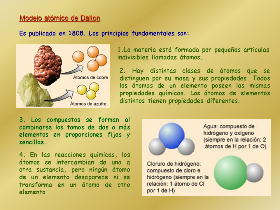 Modelo atómico de Dalton