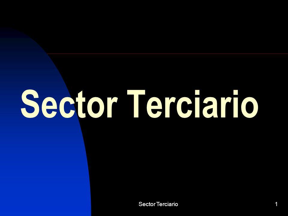 Sector Terciario Sector Terciario