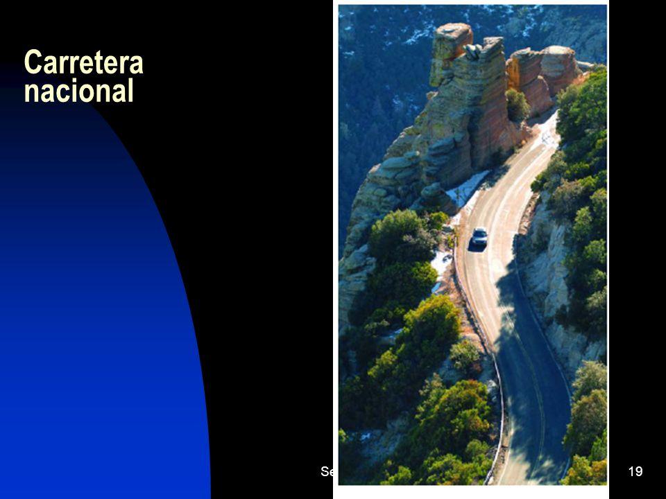 Carretera nacional Sector Terciario