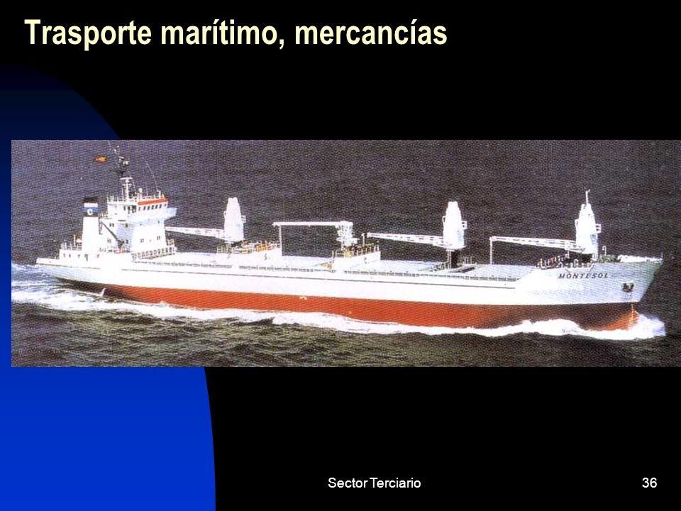 Trasporte marítimo, mercancías