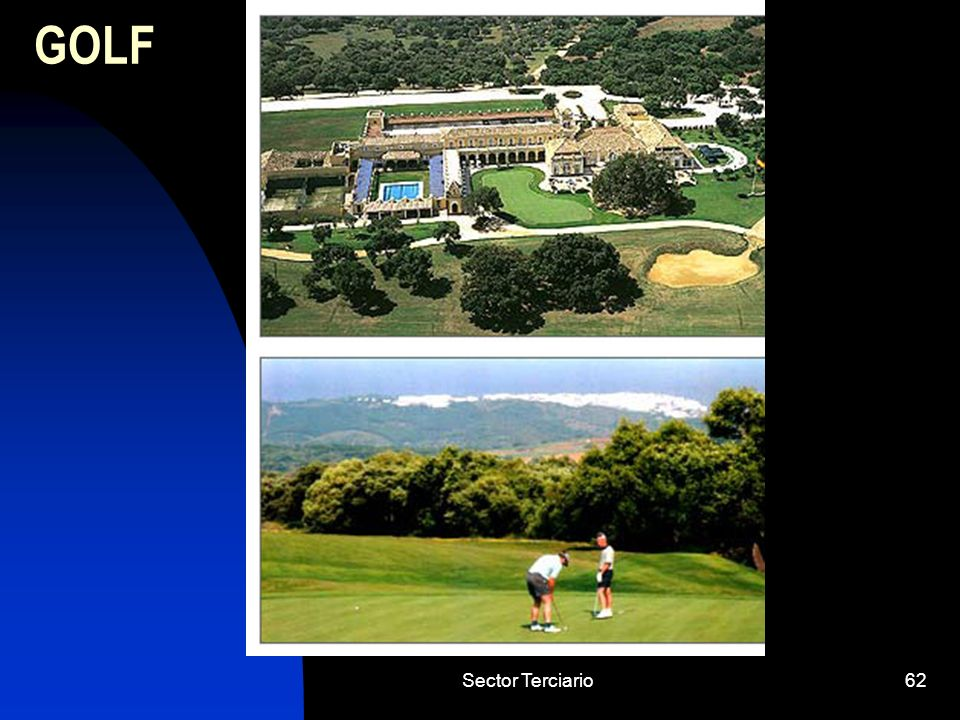 GOLF Sector Terciario