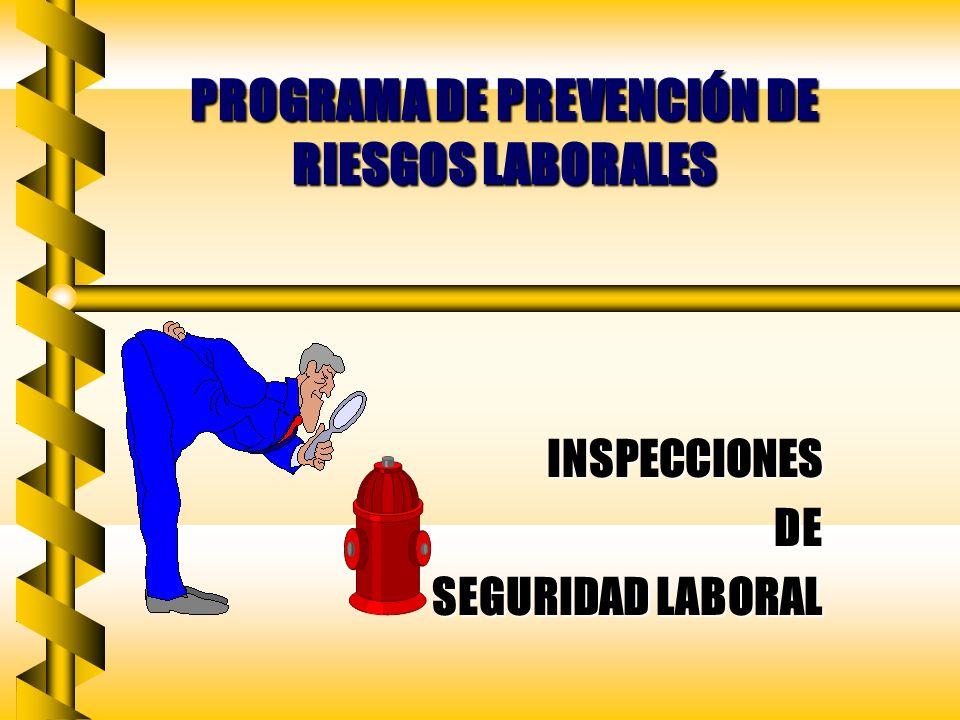 PROGRAMA DE PREVENCIÓN DE RIESGOS LABORALES