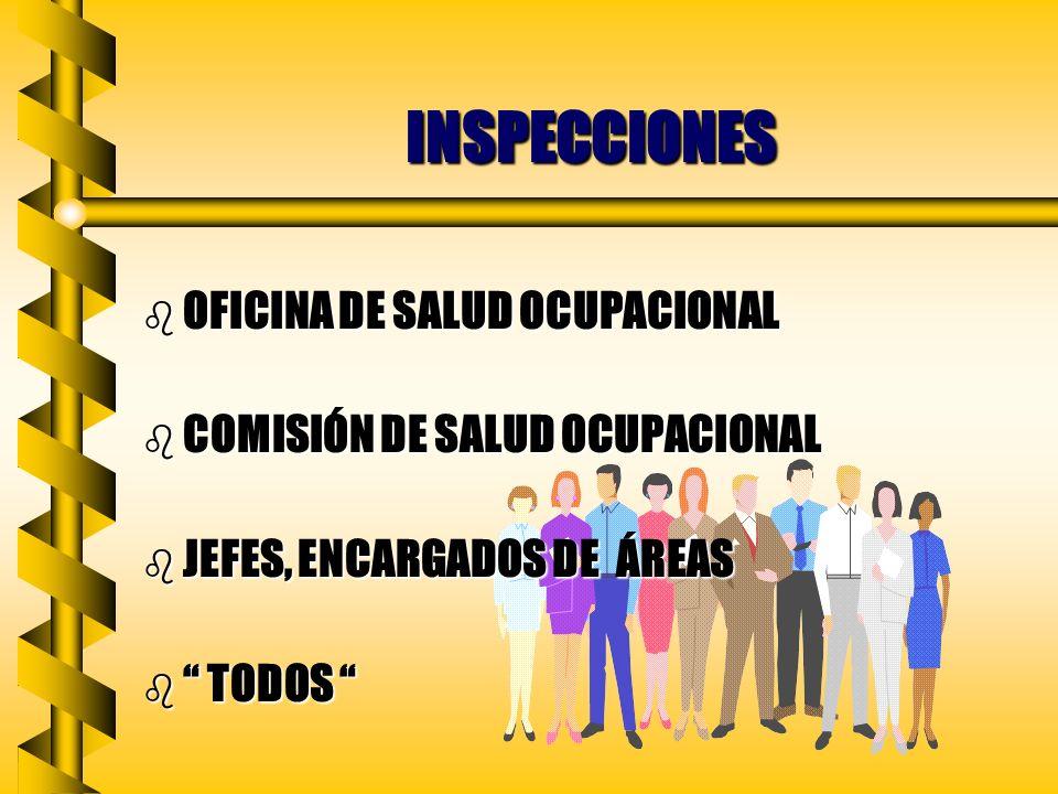 INSPECCIONES OFICINA DE SALUD OCUPACIONAL