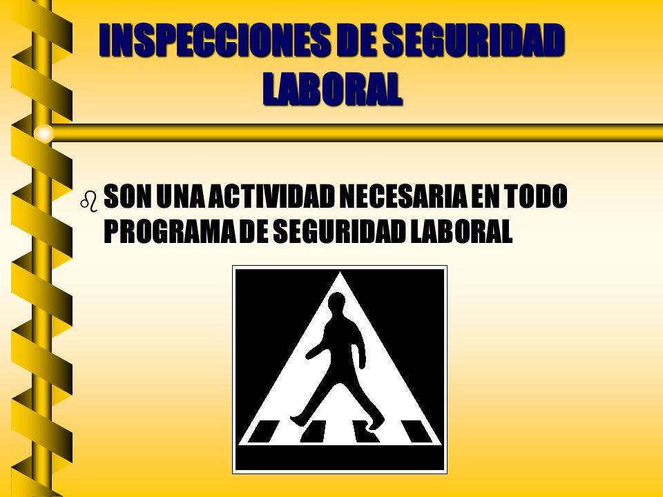INSPECCIONES DE SEGURIDAD LABORAL