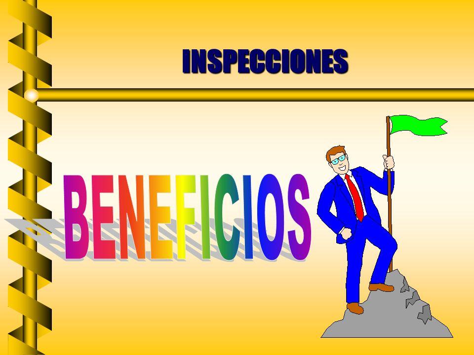 INSPECCIONES BENEFICIOS