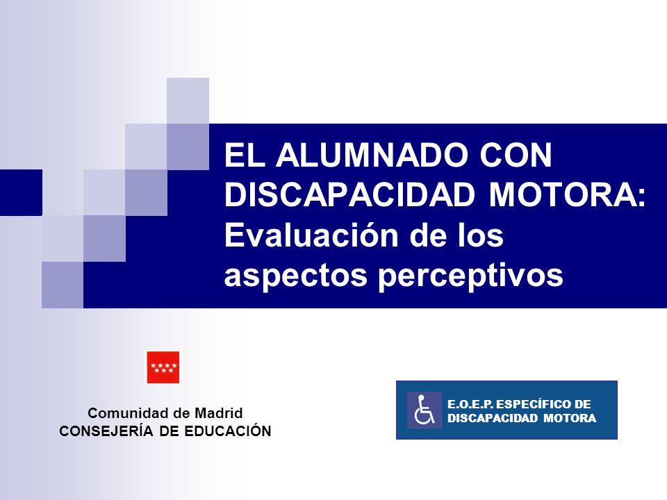 Comunidad de Madrid CONSEJERÍA DE EDUCACIÓN