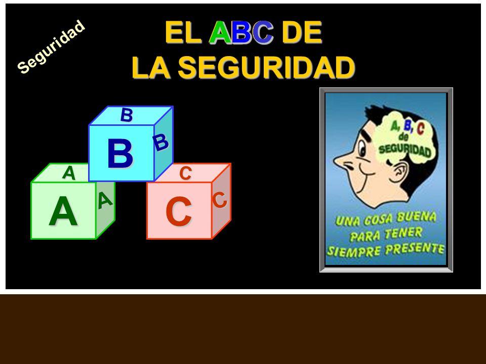 B A C EL ABC DE LA SEGURIDAD ABC ABC ABC ABC ABC ABC ABC ABC ABC ABC