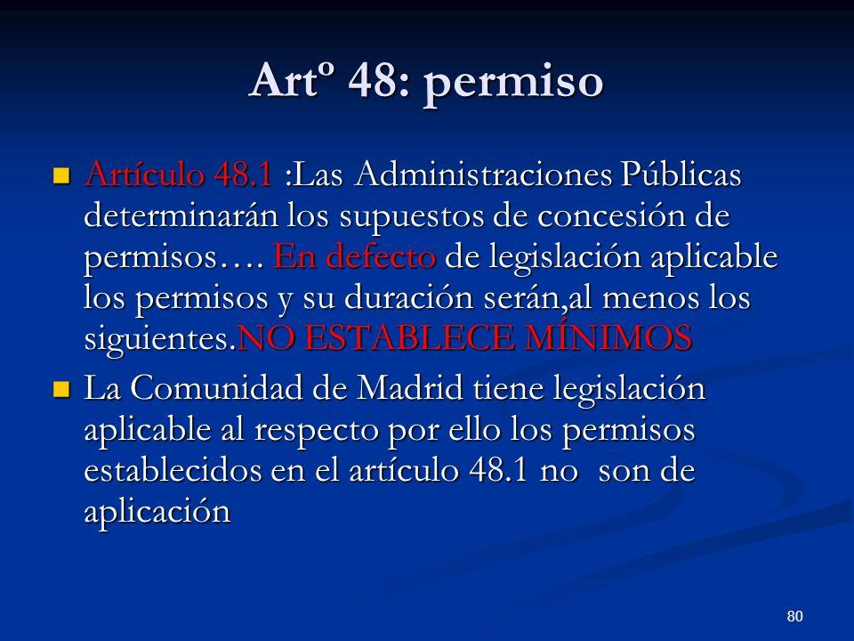 Artº 48: permiso