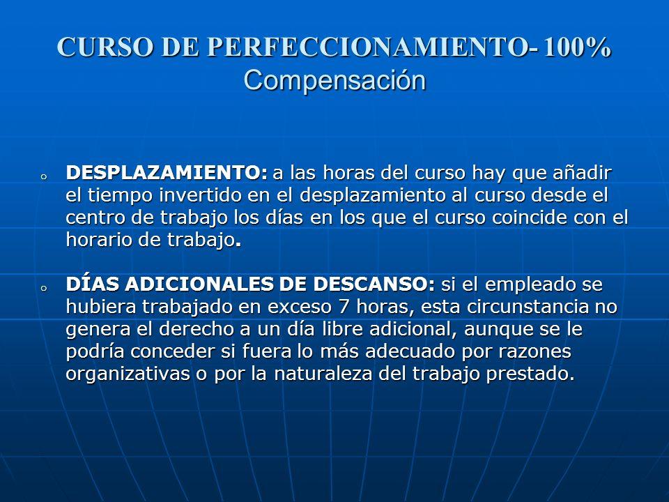 CURSO DE PERFECCIONAMIENTO- 100% Compensación