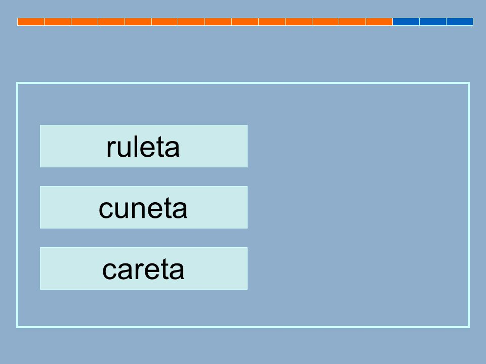 ruleta cuneta careta