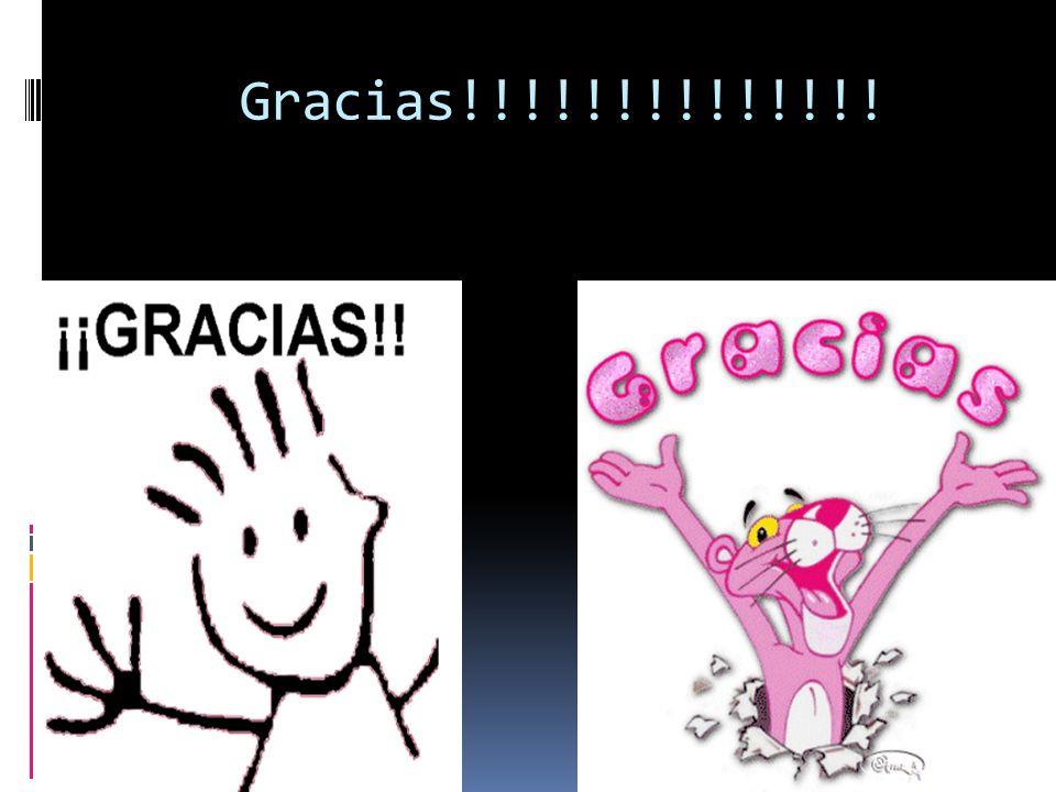 Gracias!!!!!!!!!!!!!!