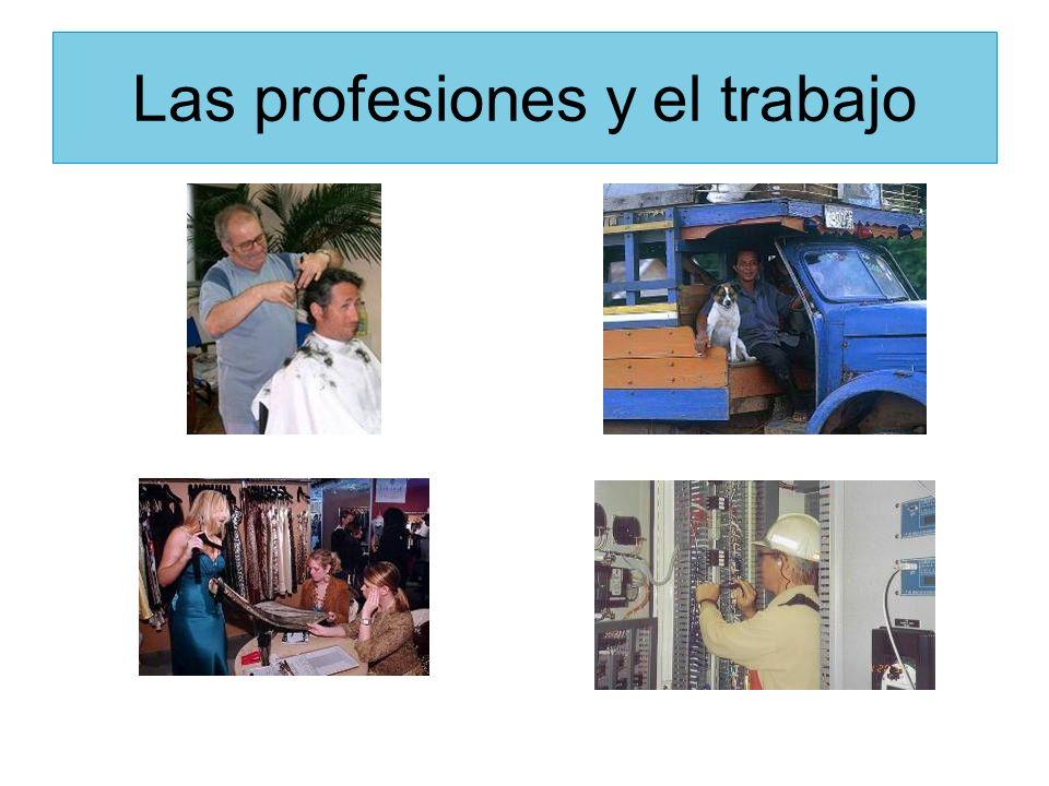 Las profesiones y el trabajo