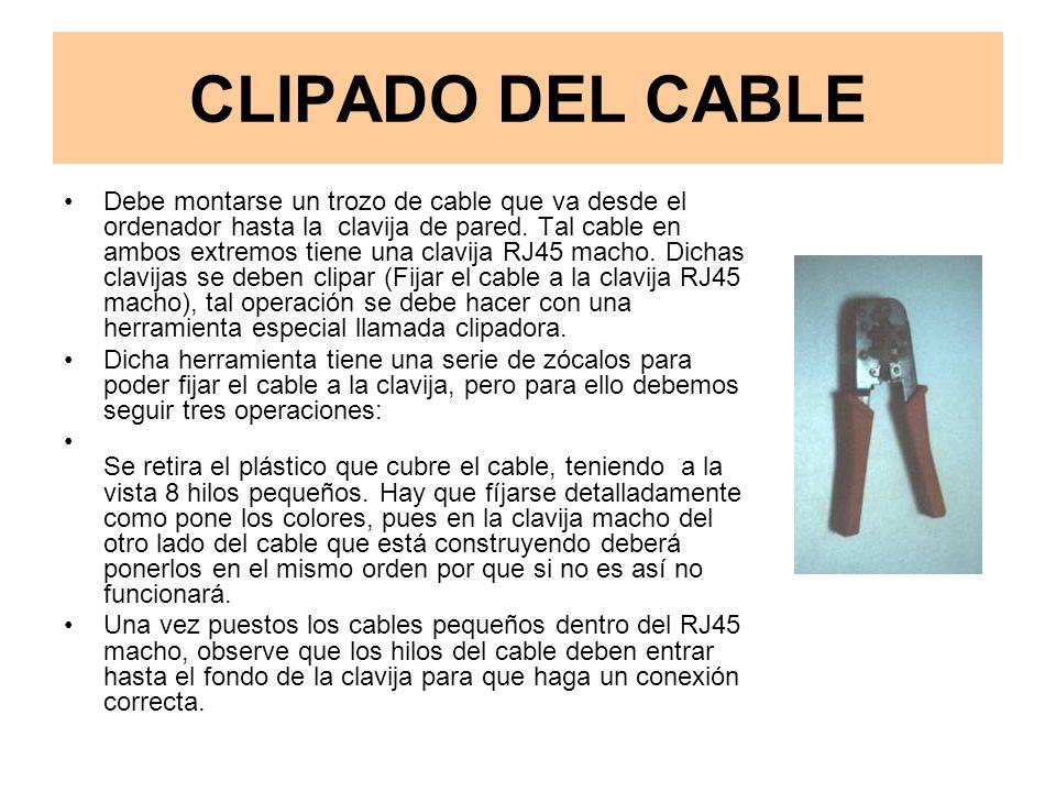 CLIPADO DEL CABLE