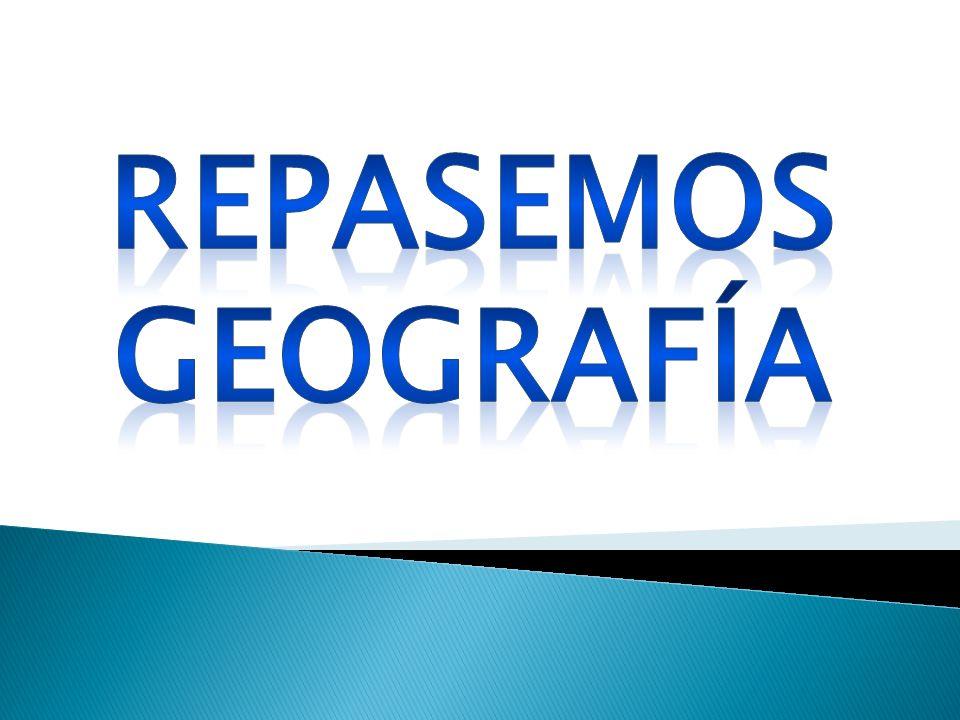 Repasemos geografía