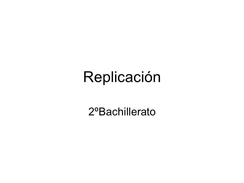 Replicación 2ºBachillerato