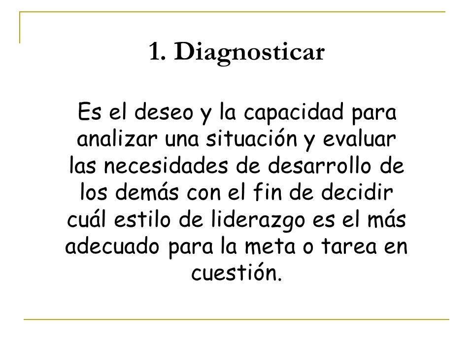 1. Diagnosticar