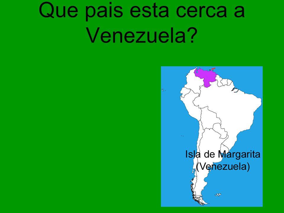 Que pais esta cerca a Venezuela