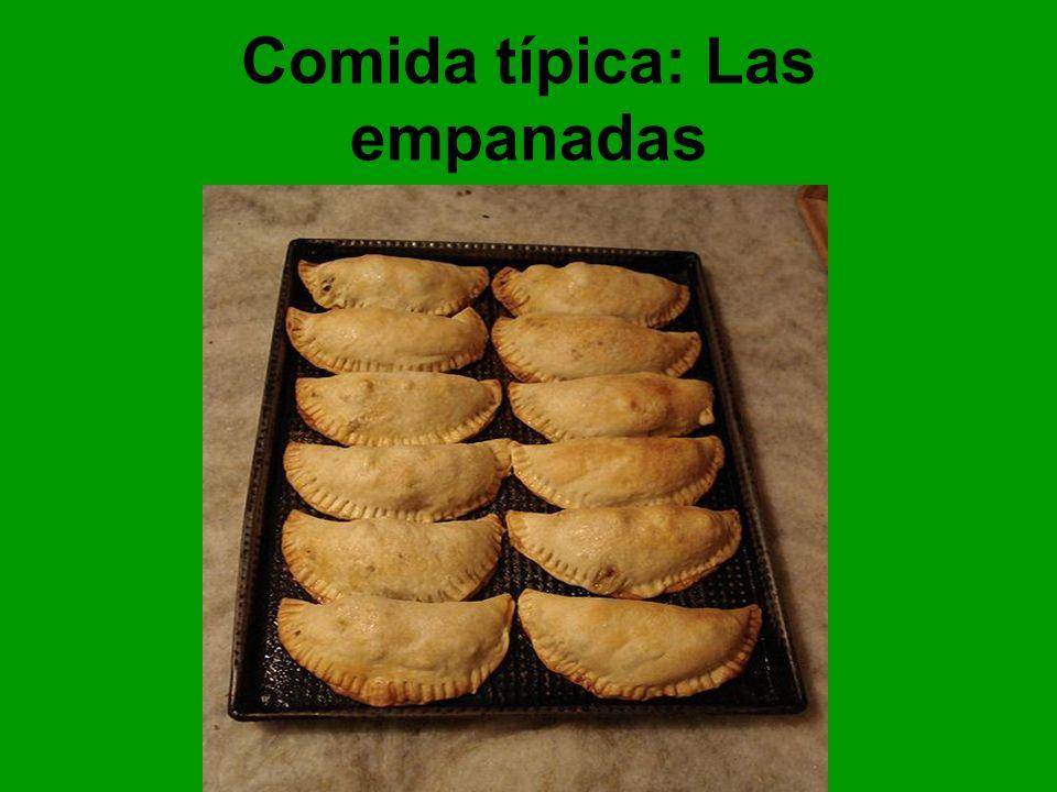 Comida típica: Las empanadas
