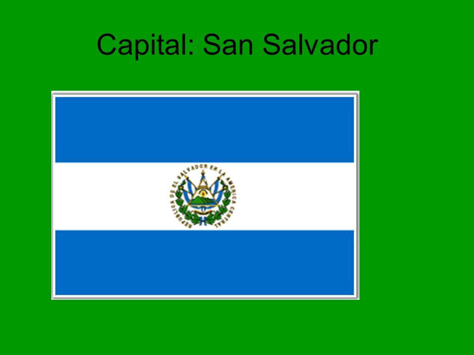 Capital: San Salvador