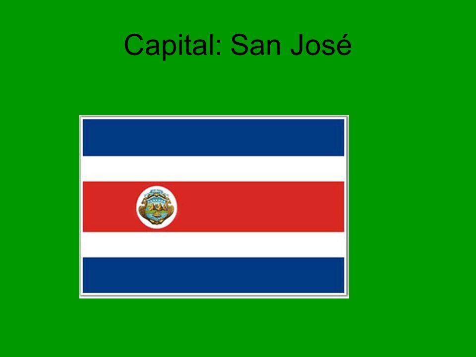 Capital: San José