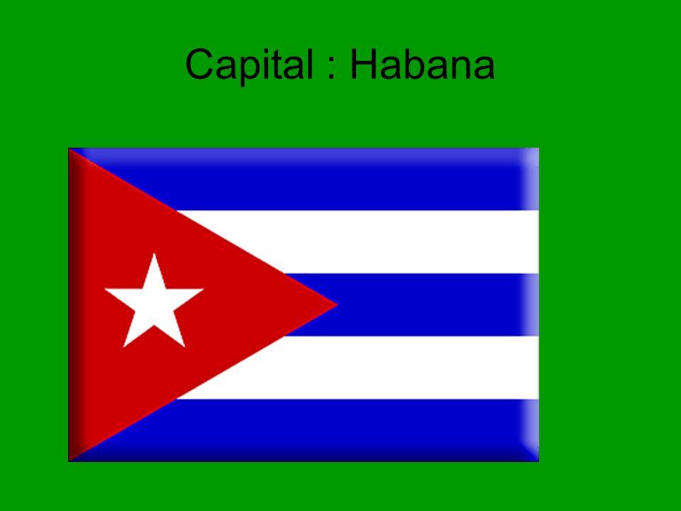 Capital : Habana