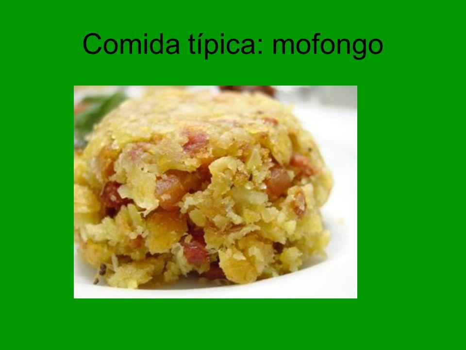 Comida típica: mofongo
