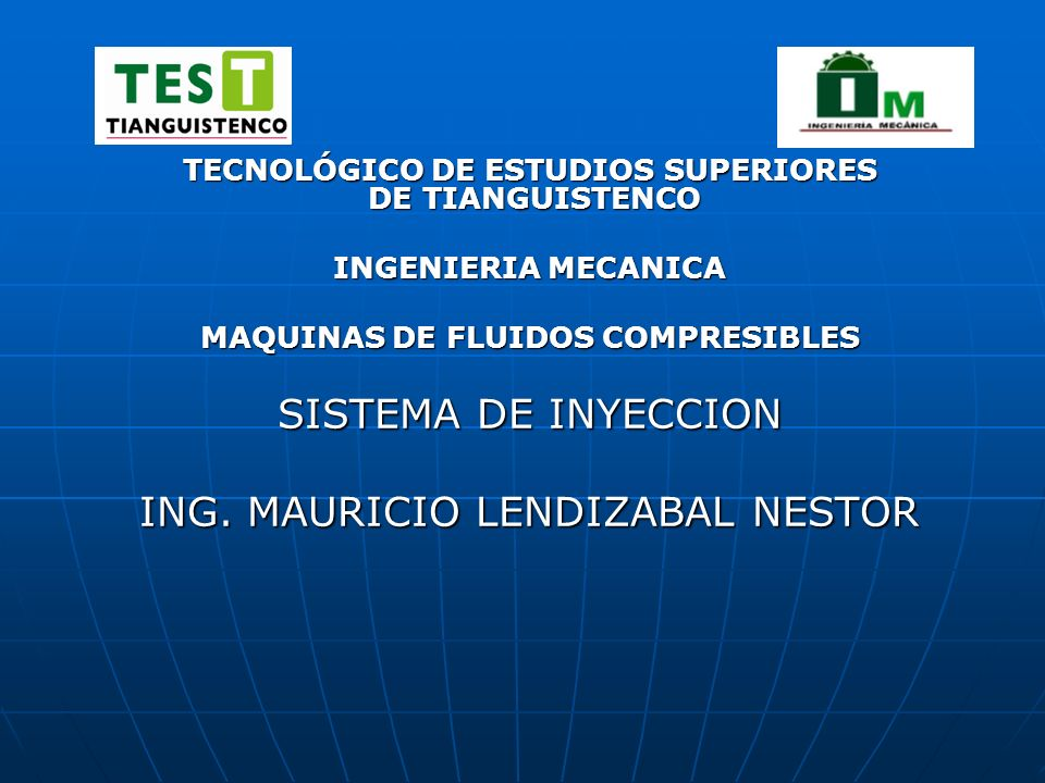 ING. MAURICIO LENDIZABAL NESTOR