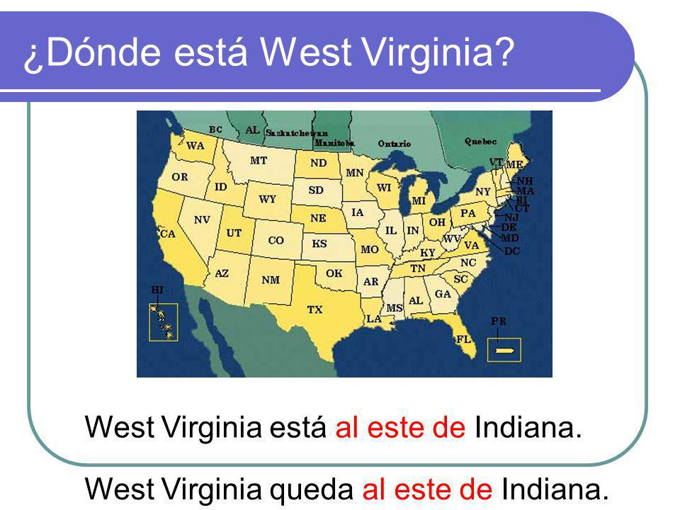 ¿Dónde está West Virginia
