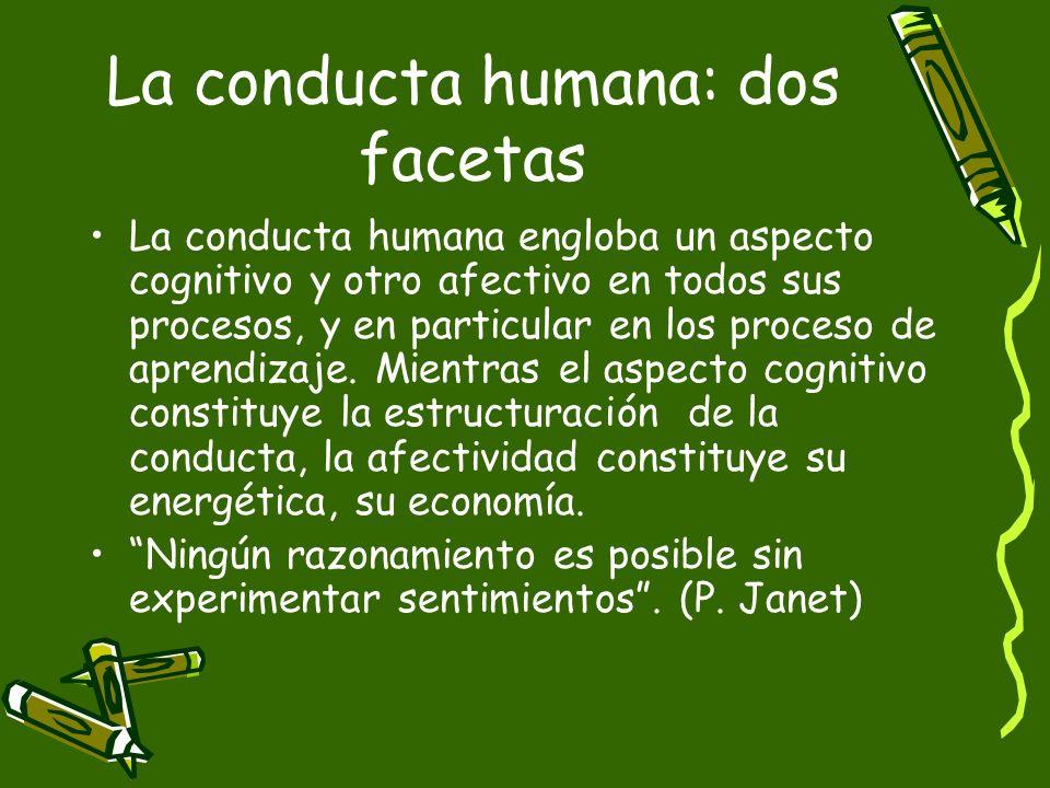 La conducta humana: dos facetas