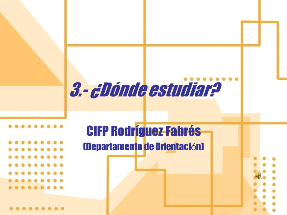 CIFP Rodríguez Fabrés (Departamento de Orientación)