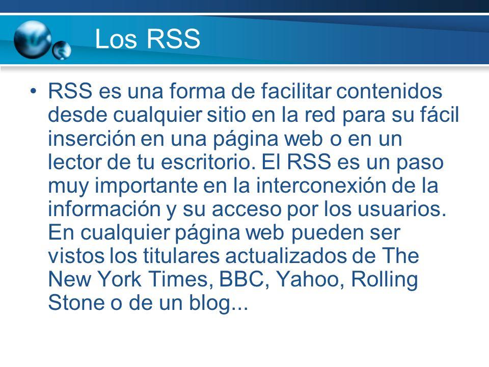 Los RSS