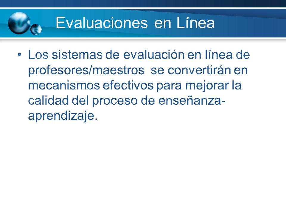 Evaluaciones en Línea