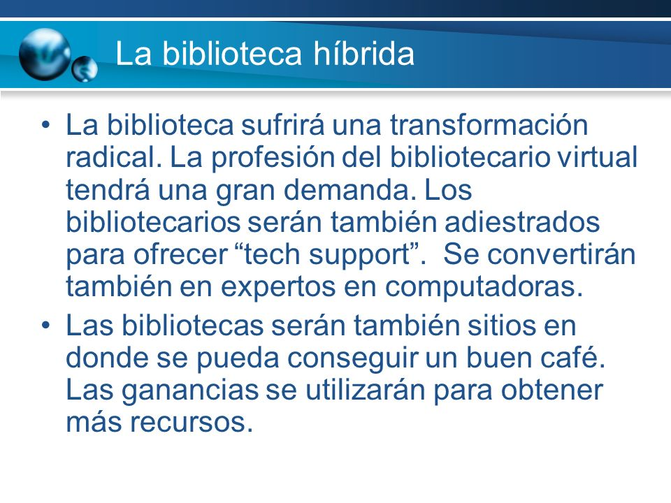 La biblioteca híbrida