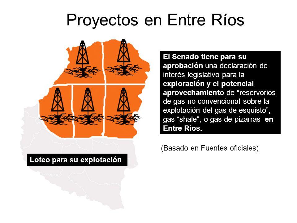 Proyectos en Entre Ríos