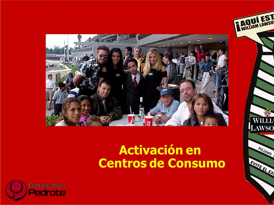 Activación en Centros de Consumo