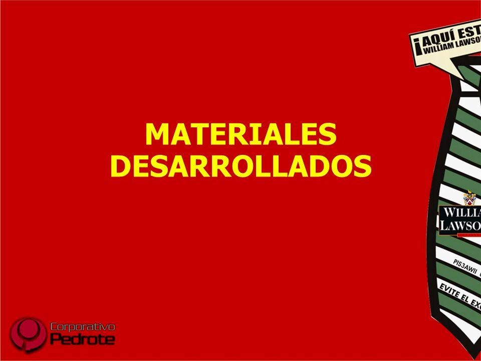 MATERIALES DESARROLLADOS