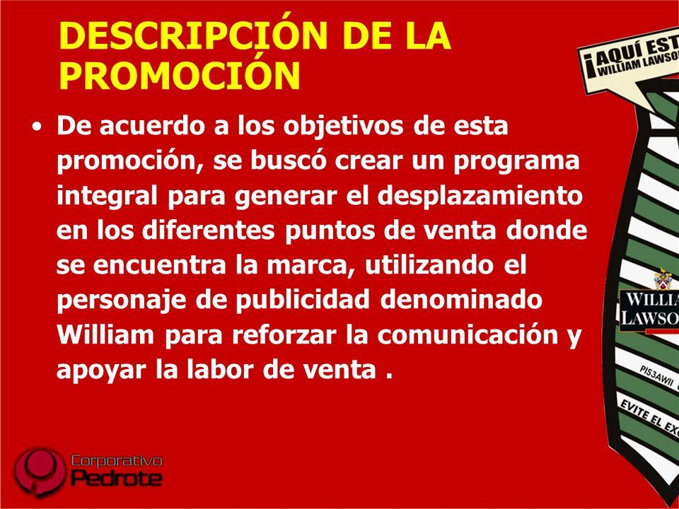 DESCRIPCIÓN DE LA PROMOCIÓN