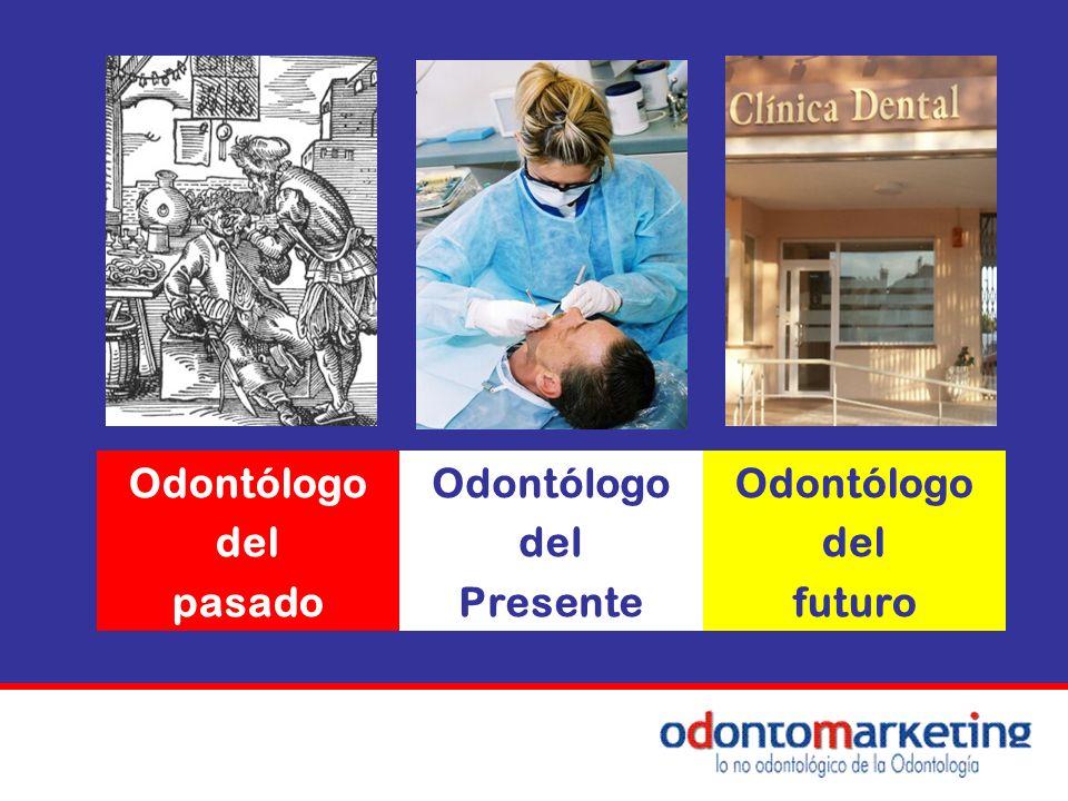 Odontólogo del pasado Presente futuro