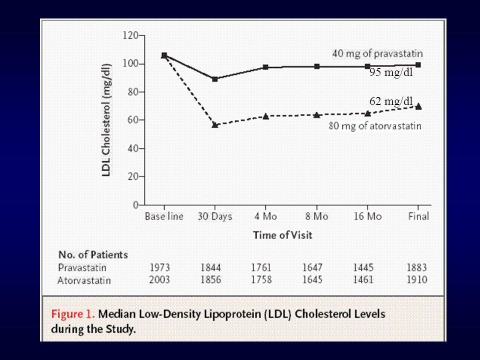 95 mg/dl 62 mg/dl