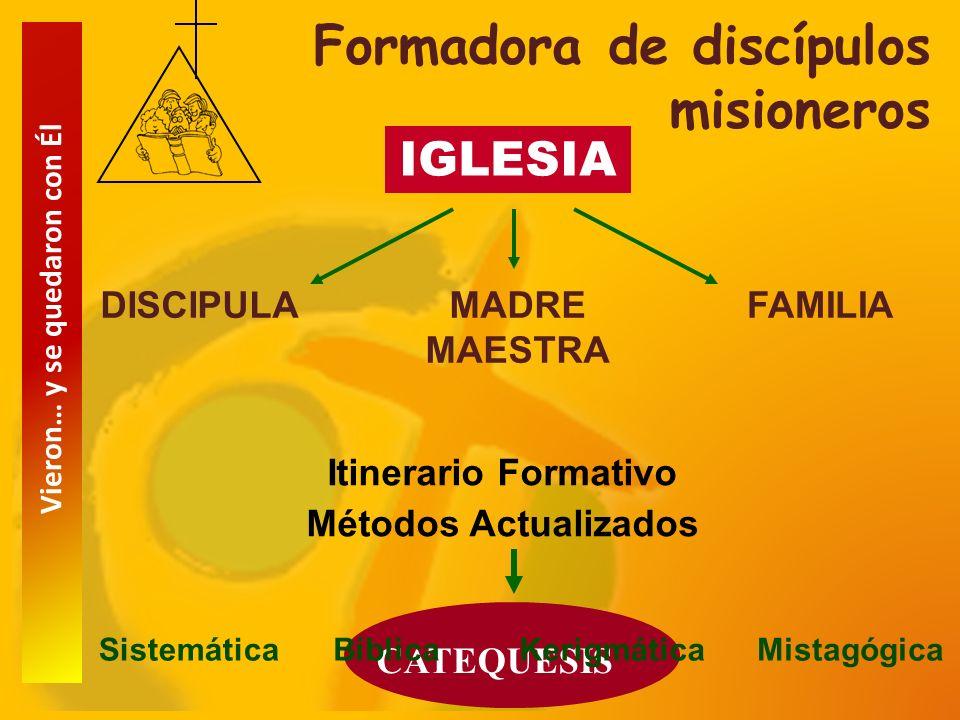 Formadora de discípulos misioneros
