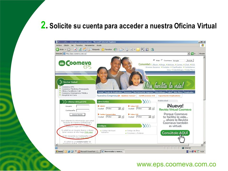 C mo imprimir el certificado de afiliaci n ppt video for Oficina virtual correos