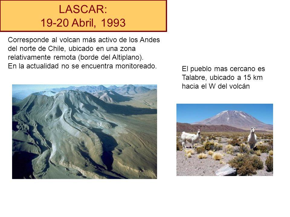 LASCAR: 19-20 Abril, 1993.