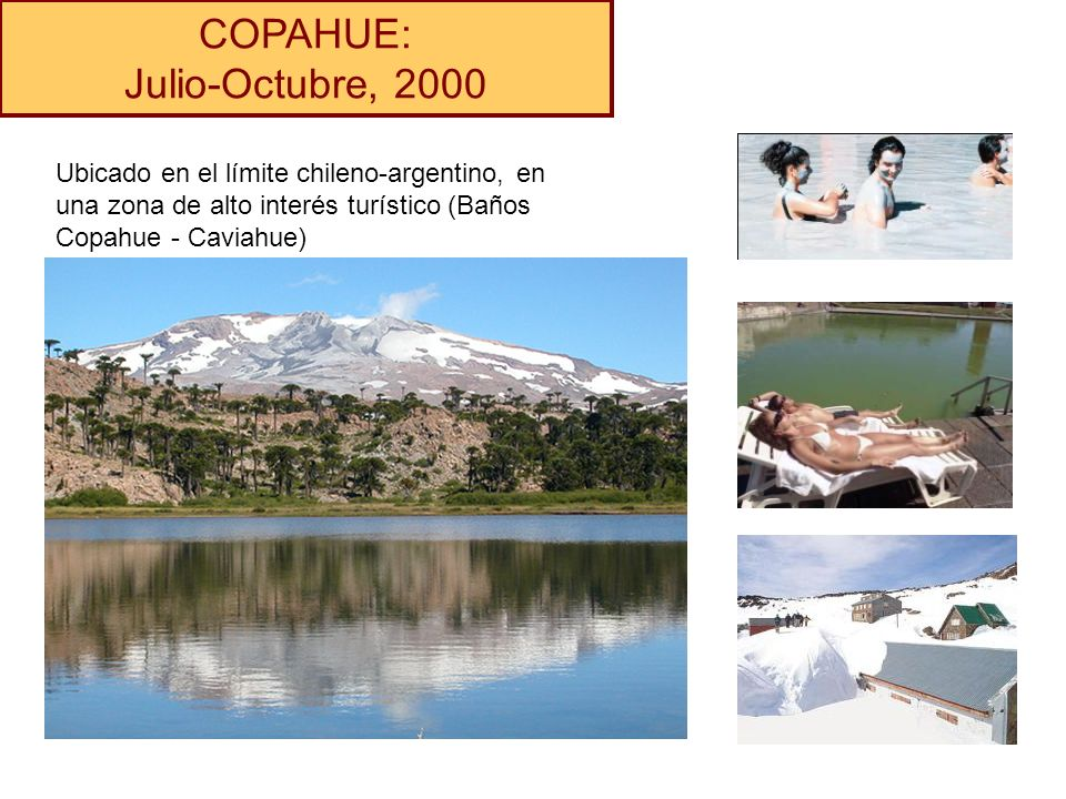 COPAHUE: Julio-Octubre, 2000