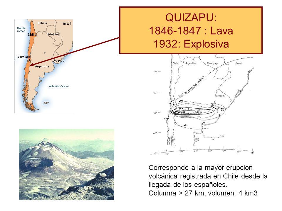 QUIZAPU: 1846-1847 : Lava 1932: Explosiva