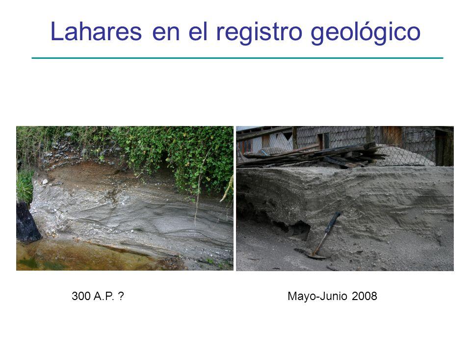 Lahares en el registro geológico