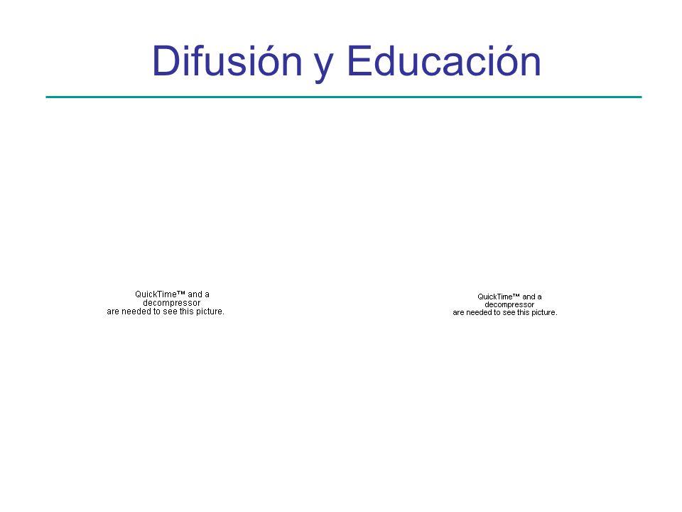 Difusión y Educación
