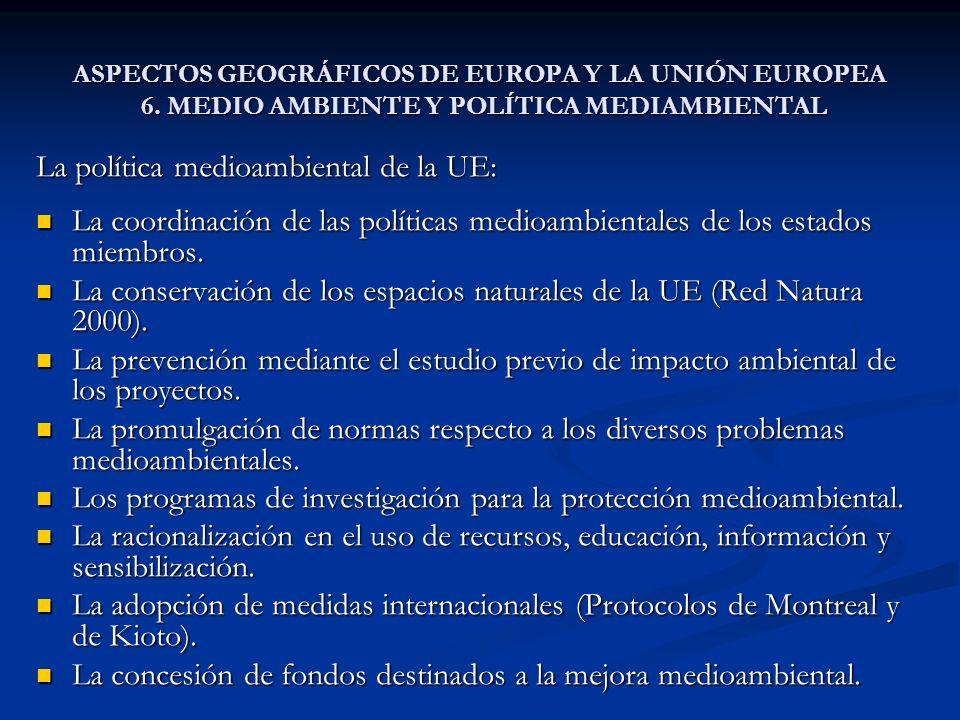 La política medioambiental de la UE: