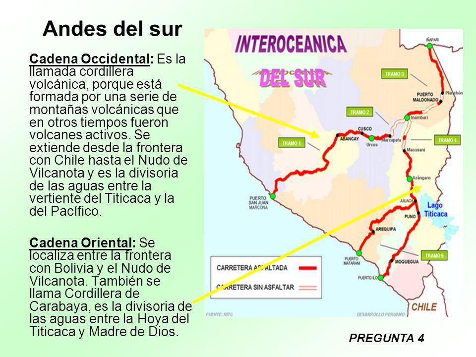 Andes del sur