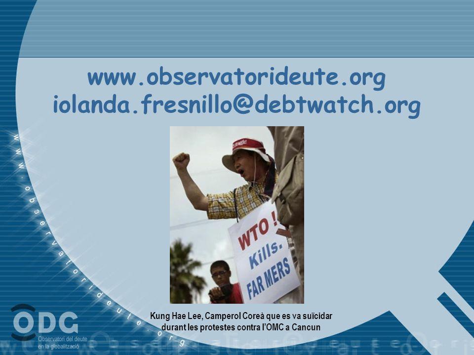 www.observatorideute.org iolanda.fresnillo@debtwatch.org
