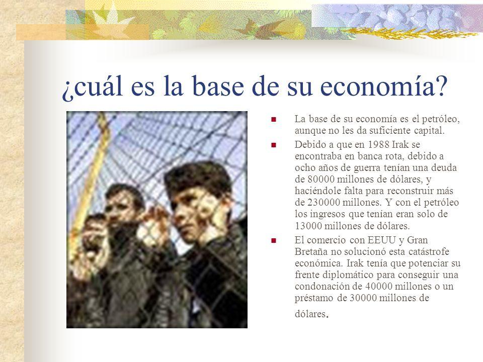 ¿cuál es la base de su economía